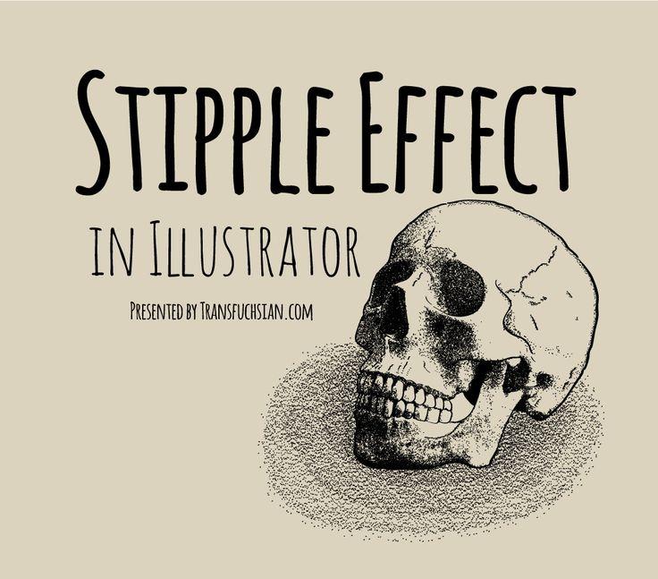 efecto de punteado en ilustrador