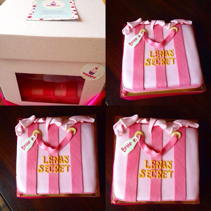 Торт на девичник в наших новеньких коробочках