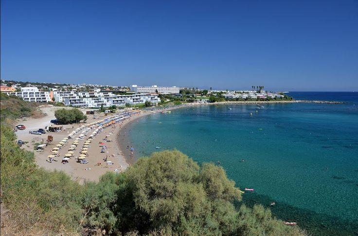 Kalithea Beach, Rhodes,Greece