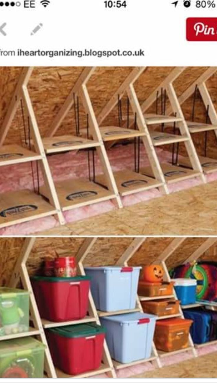 Roof storage