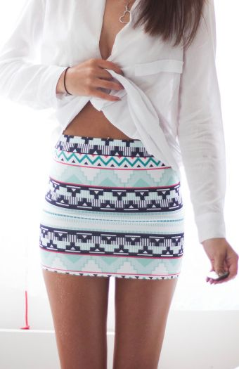 Tribal skirt?? hmm something to think about I've been digging the tribal lately
