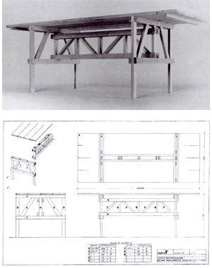 Tavolo  Design: Enzo Mari