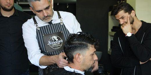 Το blogkommoton αναγγέλλει μία μεγάλη συνεργασία με τον Στέλιο Καρούσο, με έναν εκ των κορυφαίων Barber και In Mens shave στην Ελλάδα!