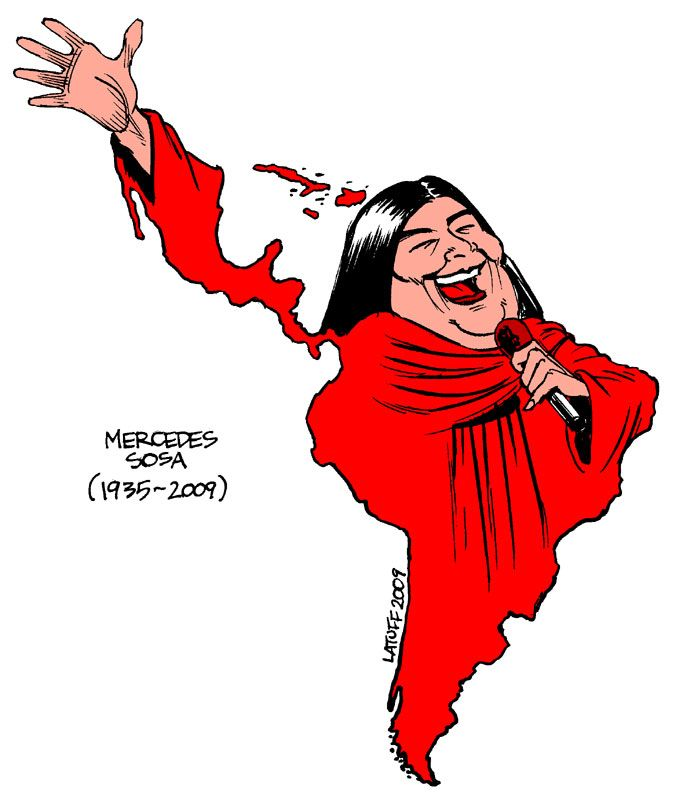 Mercedes Sosa <3. Rich in Culture and Tradition; in keeping with my memoir…