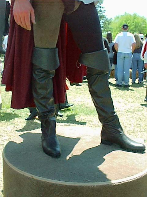 Arthur Leather Boots Knight Boots Cavalier Boots Black by RenBoots, $360.00