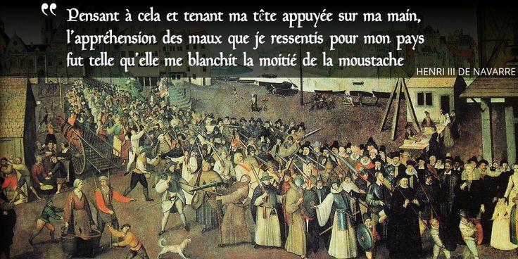 """1585 : le #roi Henri III s'engage à """"bouter les hérétiques"""" et signe l'édit de... #histoire de #France en #citations"""