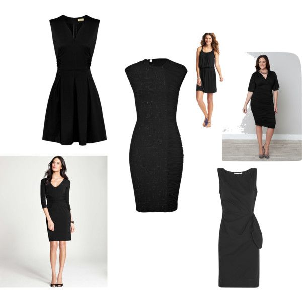 """Little Black Dress: Style Dial #3"" by nadam1 on Polyvore"