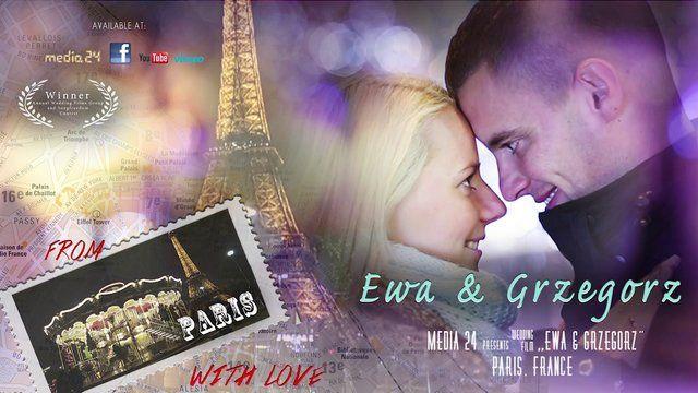 "Paris, France  Music: Matt White ""Best Days"" licensed through Songfreedom www.media-24.pl   #ślub #wedding #wesele #film #ślubny #teledysk #media-24 #Paryż #Paris"