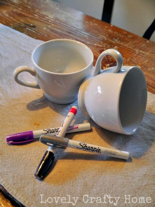 Craft Smart Oil Based Paint Pen Mug