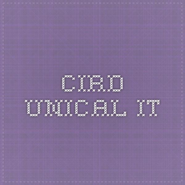 cird.unical.it