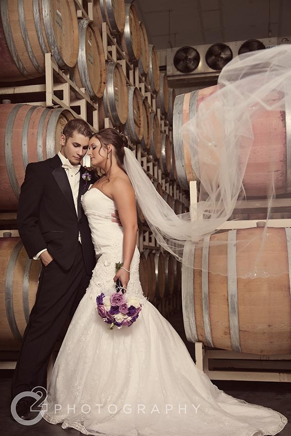 True Love In The Barrel Room Sawtooth Weddings