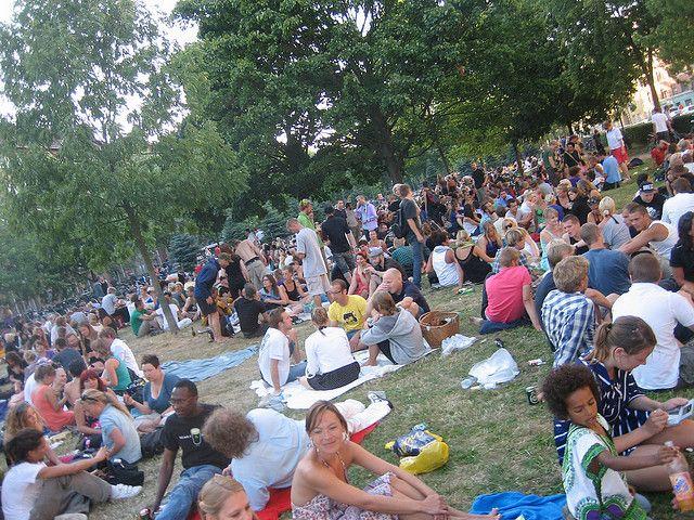 En mere end normalt festlig Nørrebroparken   Flickr - Photo Sharing!