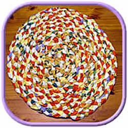 Braided Rag Rug For You To Make