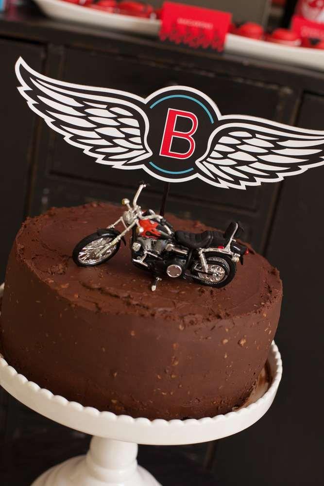 Motorcycle Birthday | CatchMyParty.com