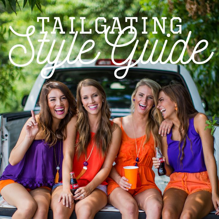 Gameday is just around the corner! Check out our Tailgating Style Guide for tips on how to style the perfect gameday ready outfit!