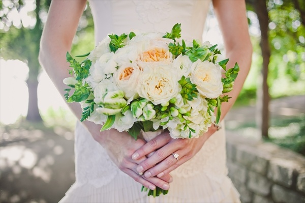Garden rose and parrot tulip bridal bouquet  Wild Poppy Floral & Events www.WildPoppyTexas.com