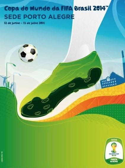 Los pósters oficiales de Brasil 2014
