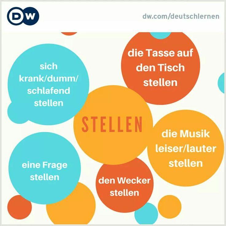 Einige Beispiele, wie man das Wort STELLEN benutzen kann: