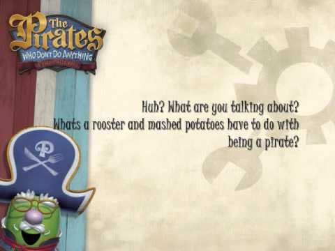 Cell Ringtone:  Veggie Tales We are the pirates who dont do anything lyrics
