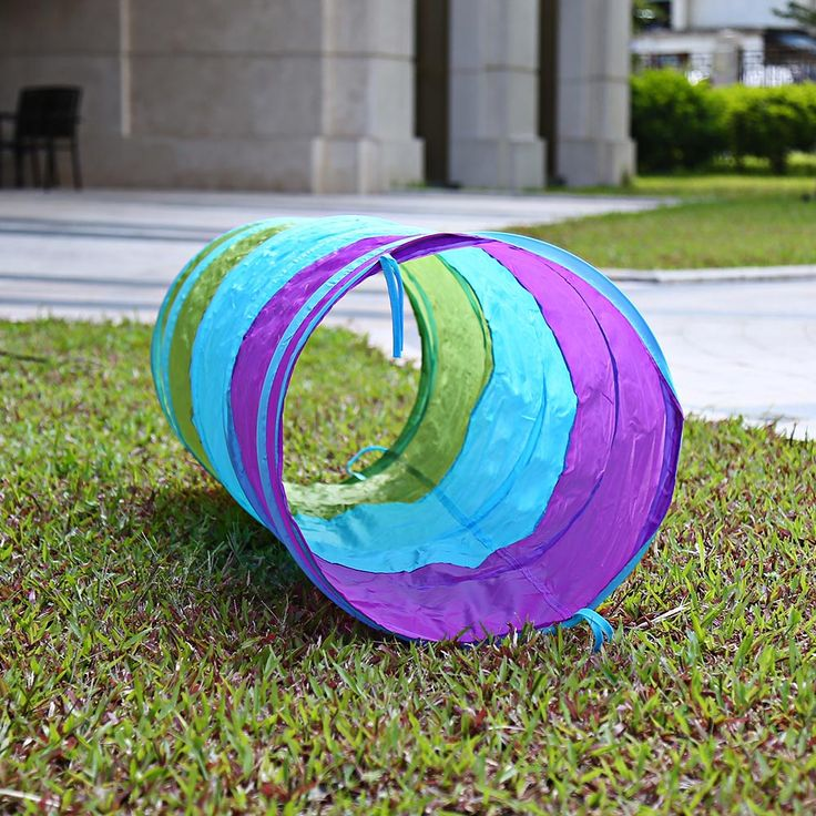 1.5M Colorful Folding Kids Tunnel Tube Play Tent Toy Tents  Indoor Outdoor Playhouse children house toys games ball pit pool