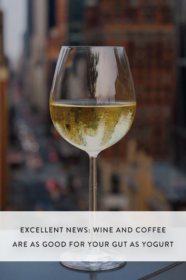 good white wine excellent news wine and coffee are as for your gut 30920
