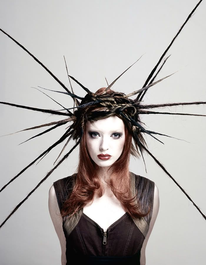 ⍙ Pour la Tête ⍙ hats, couture headpieces and head art - woodland