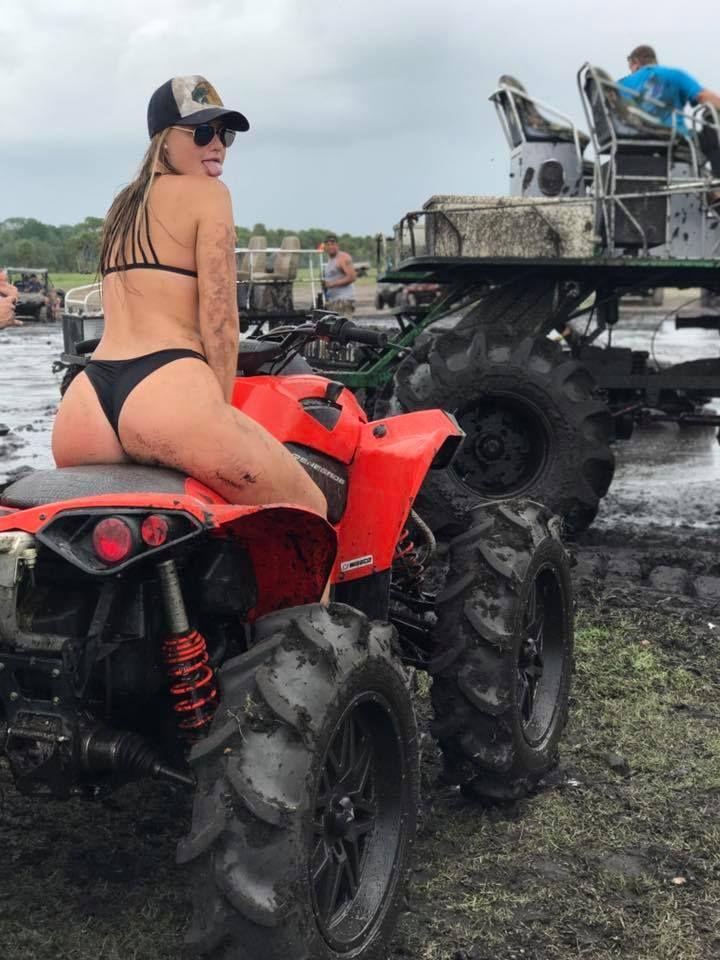 Bikini four wheeling that