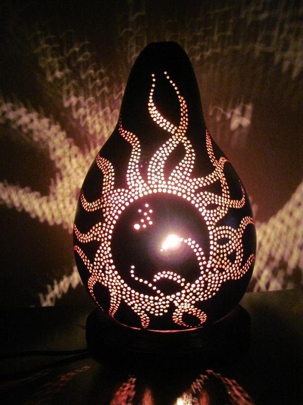 Gourd Lamp 147 best gourd lamps images on pinterest | gourd lamp, gourd