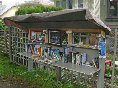 Street Library a Vancouver  #LettoriFuori