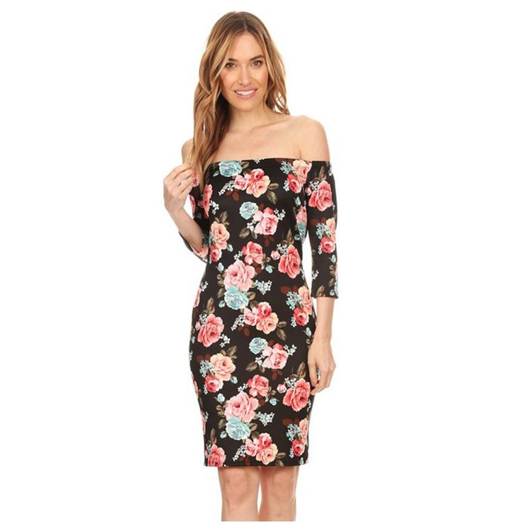 Women's Pattern Bodycon Dress