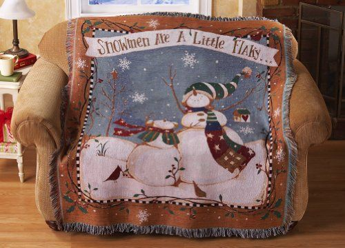 Are a little flaky holiday tapestry throw by collections etc 21 99