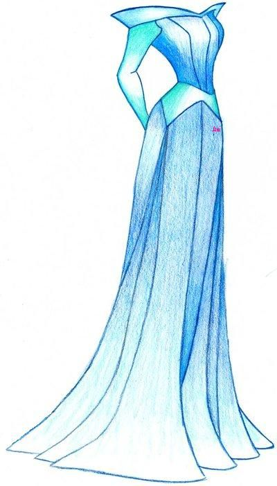 Aurora's Dress by MOD37.deviantart.com