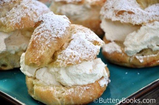 cream puff pastries, pastry recipes
