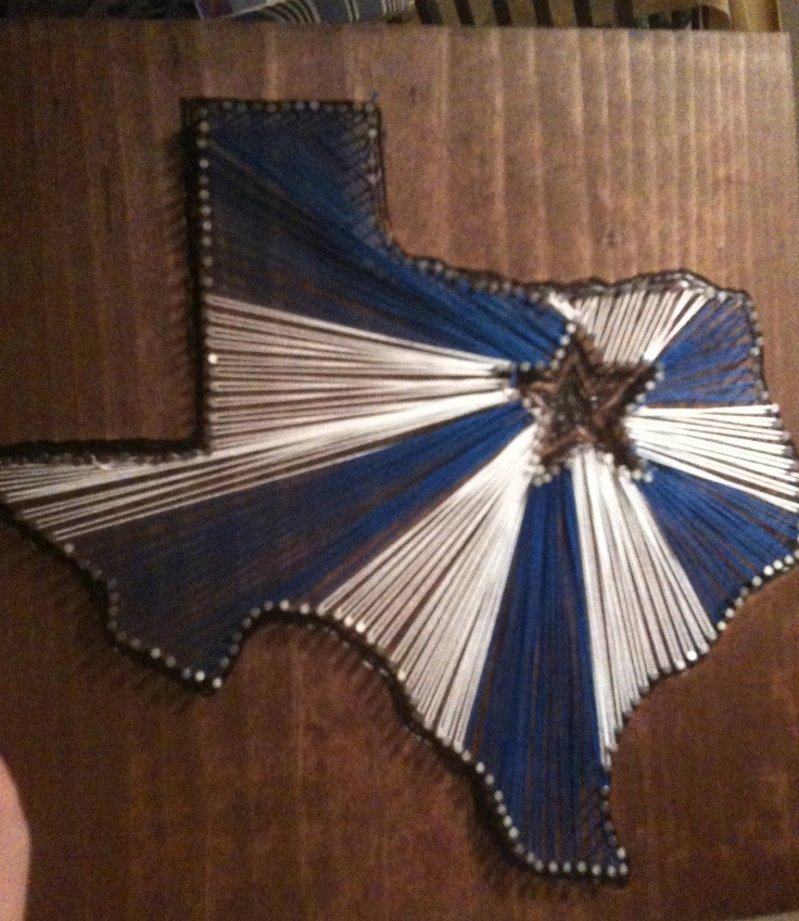 Dallas cowboys string art ily pinterest the cowboy for Dallas cowboys arts and crafts