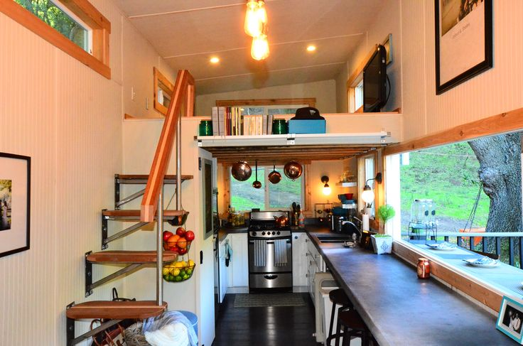 d7k_6912jpg 49283264 pixels this is a great tiny house design lots of pics here this one was featured on tiny house nation love the stairs - Tiny House Interior Design Ideas