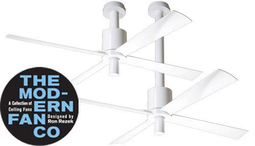 MODERN FAN plafond ventilator type PENSI nu ook in wit!!!