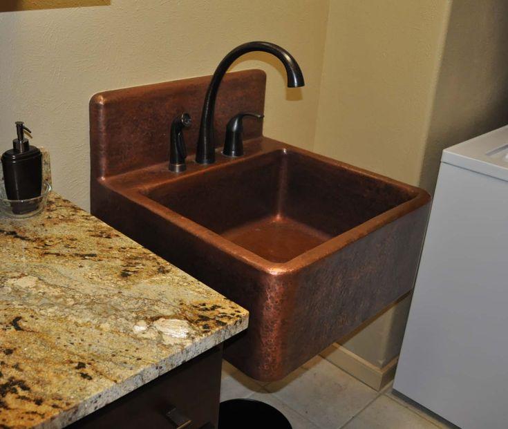 high-back-copper-farm in 2020 | copper kitchen sink
