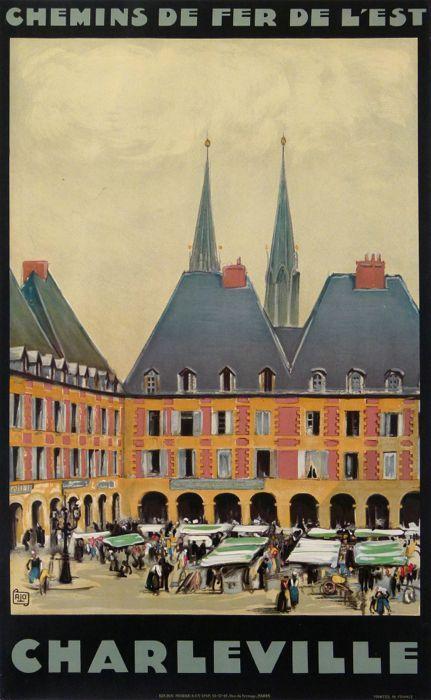 Charleville - 1925 - affiches anciennes de ALO Charles-Jean