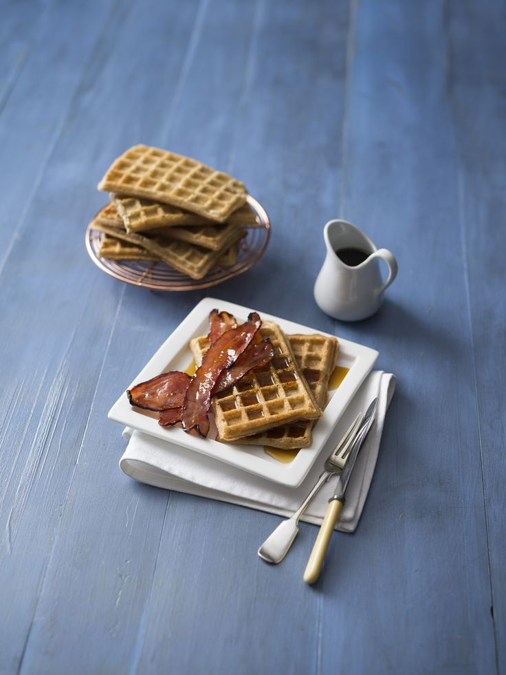 Waffles with maple bacon | Thermomix | Good food, gluten free