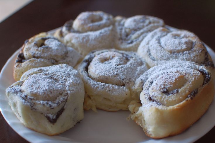 Mohnschnecken / Austrian Poppy Seed Strudel Rolls Recipe (The 350 Degree Oven), Tang Zong dough