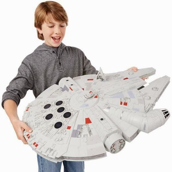 You can now fly your own Kessel Run or help blow up the Death Star with the Millennium Falcon Star Wars Hero Series Vehicle
