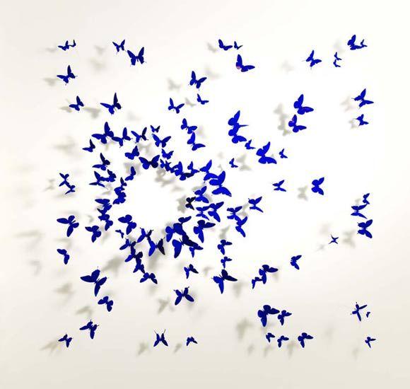 Paul Villinski artwork > birds and butterflies