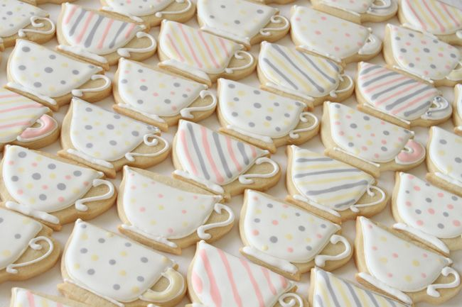 Teacup Sugar Cookies   Sugar and Spice and All Things Iced