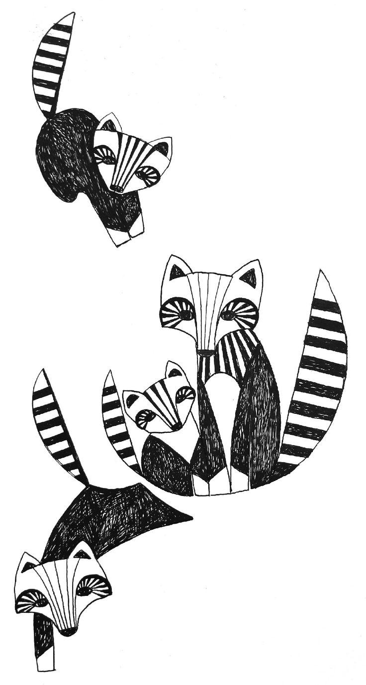 Foxtrot | Nanso 2014 | Illustration Teija Puranen