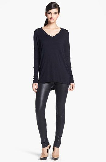 Trouvé V-Neck High/Low Sweater available at #Nordstrom...can't wait to wear mine!!