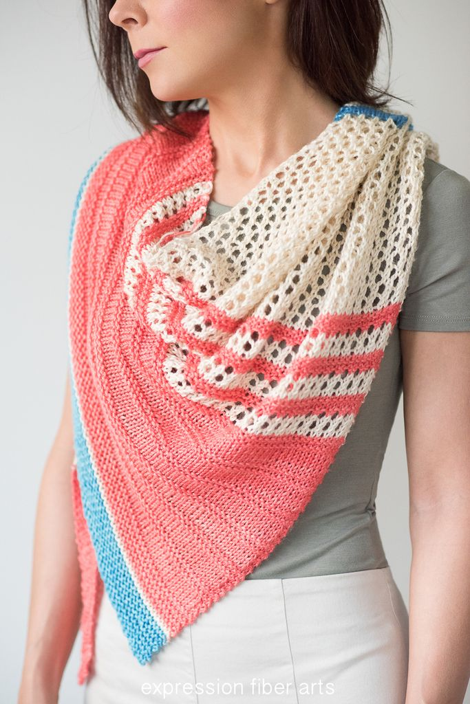 Spring Carnival Knitted Shawl Pattern