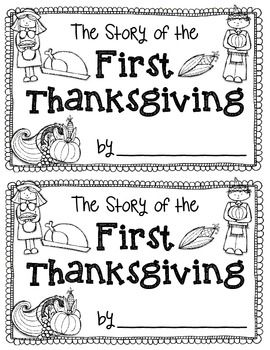 THE STORY OF THE FIRST THANKSGIVING