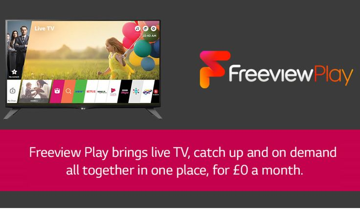 LG Freeview PLAY TVs