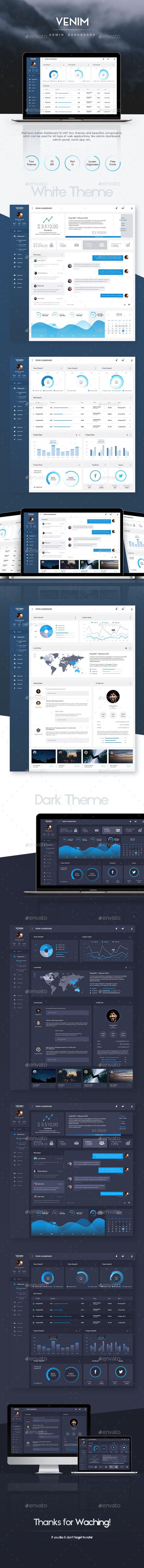 Admin Dashboard UI Template (User Interfaces)