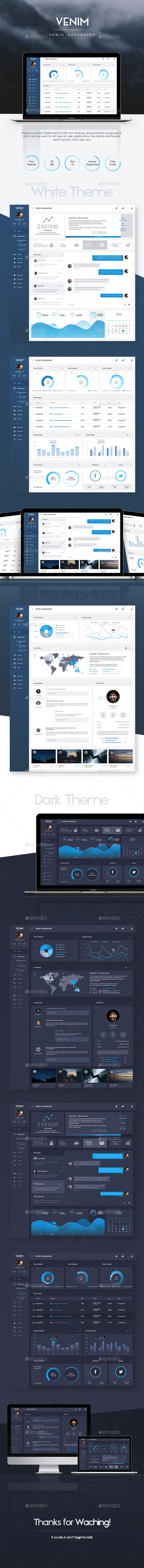 Admin Dashboard UI Template (User Interfaces)